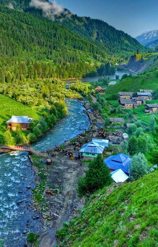 Beautiful Neelum Valley, Azad Kashmir, Pakistan  In -9705