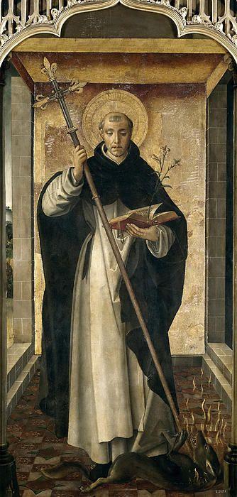 St. Dominic De Guzman  Pedro Berruguete