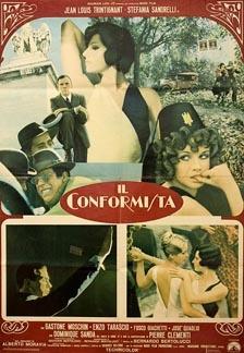 Posteritati: CONFORMIST, THE (Conformista, Il) 1970 Italian 27x39