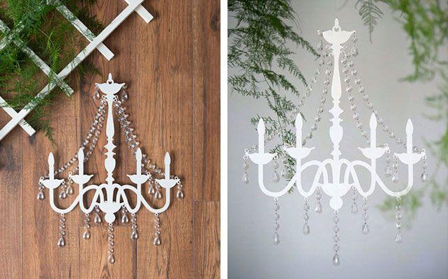 Люстра с кристаллами для декора свадьбы Использовать для декора церемонии. Хотелось бы настающую, но такая тоже может интересно смотреться