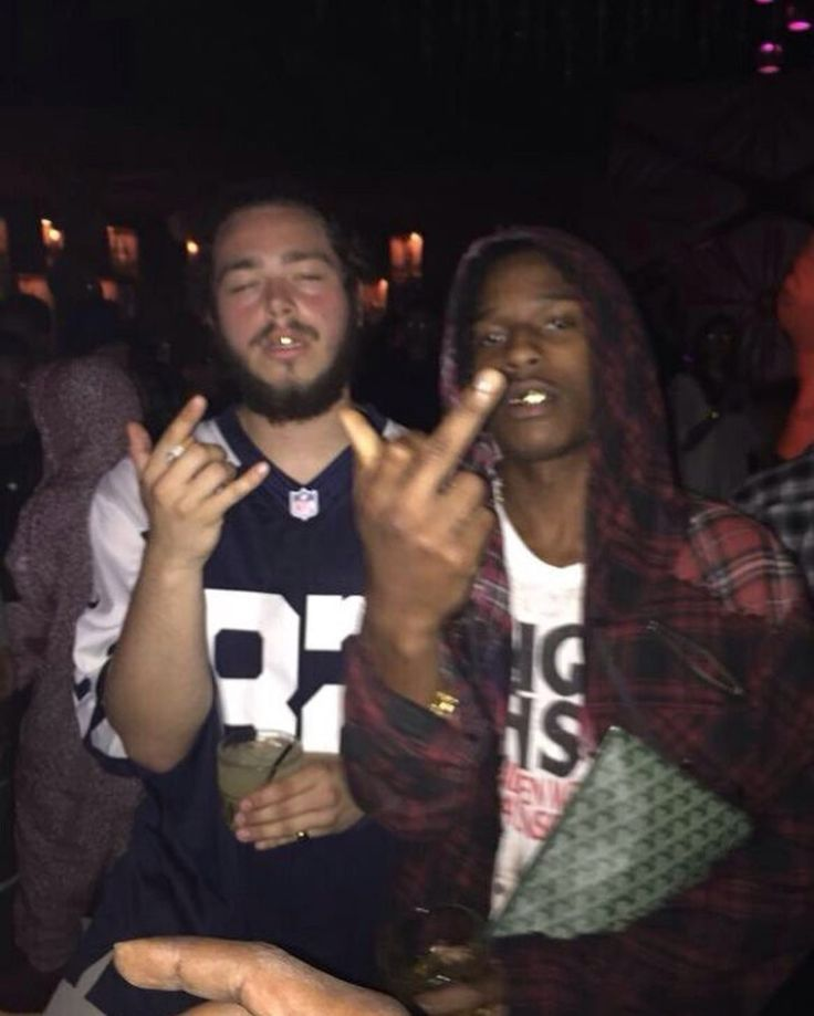 Post Malone When Young: ASAP Rocky X Lord Pretty Flacko X Young Stoney X Post