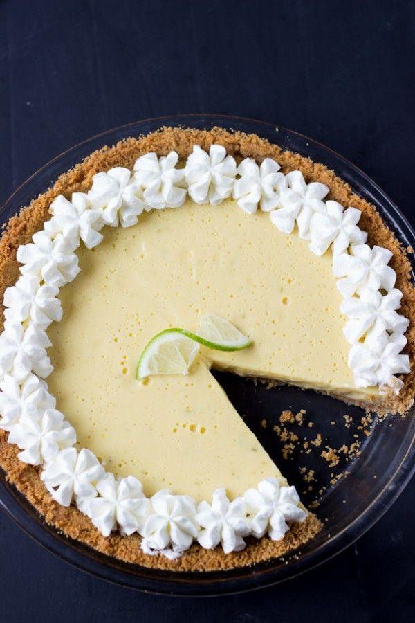 Classic Key Lime Pie Recipe - creamy, luscious and perfectly tart with fresh key lime juice.