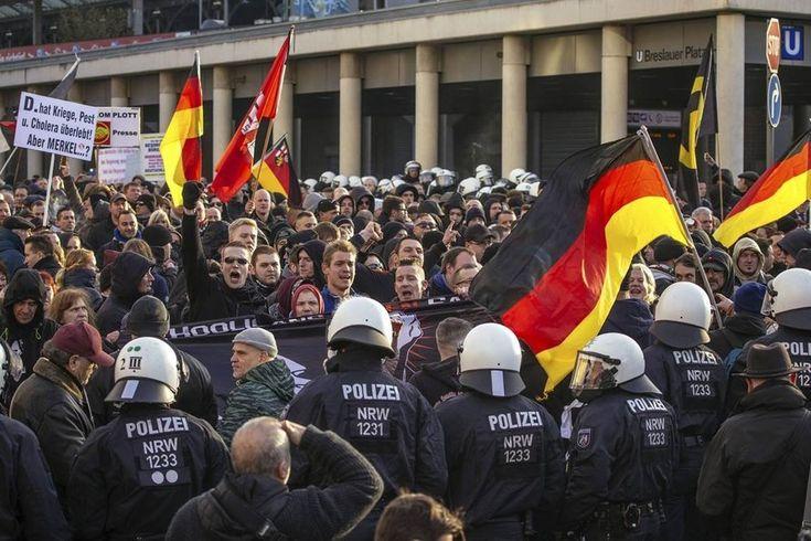 НОВЫЕ ПРАВЫЕ 2033: Немецкий город Котбус восстал против мигрантов