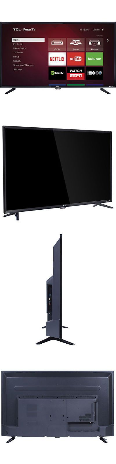 Televisions: Tcl 40 Class (40 Diag.) 1080P Roku Led Lcd Tv 40Fs3750 BUY IT NOW ONLY: $279.99