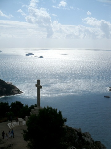 View of the Mediterranean