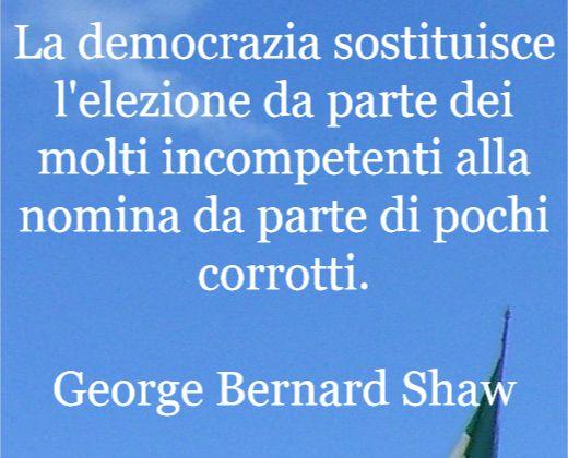 Aforismi e citazioni per una democrazia Impossibile.