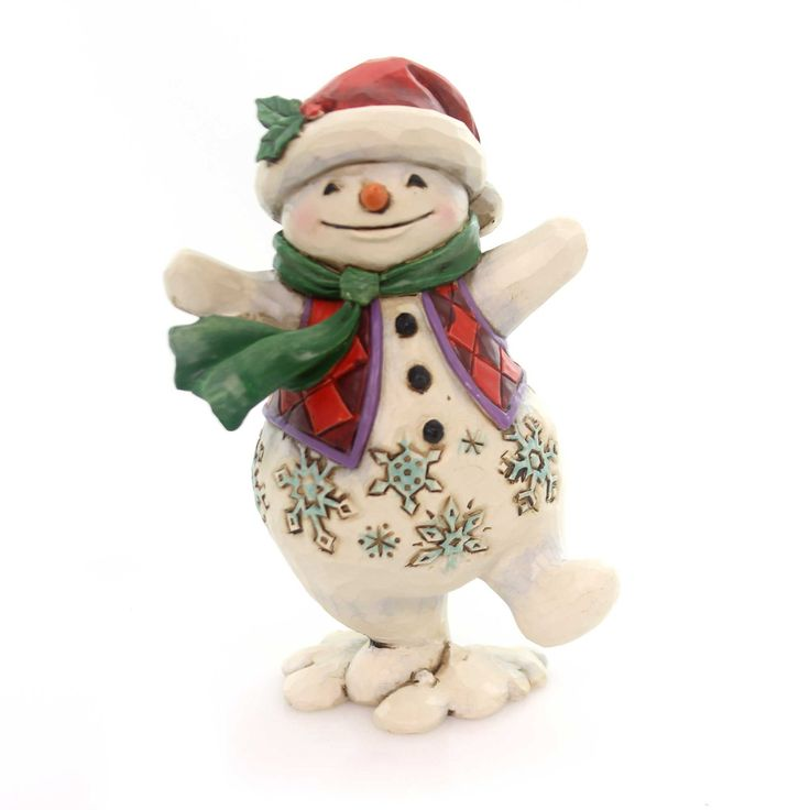 Jim Shore Walking In Wonderland Christmas Figurine Height: 5 Inches Material: Polyresin Type: Christmas Figurine Brand: Jim Shore Item Number: Jim Shore 4053818 Catalog ID: 30485 New In Styrofoam Cont