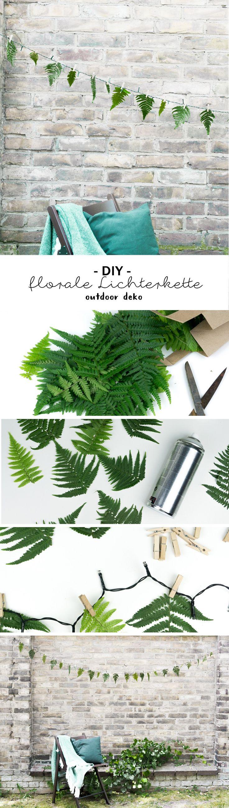 Hochwertig DIY Lichterkette U0026 Florale Girlande Für Frosch