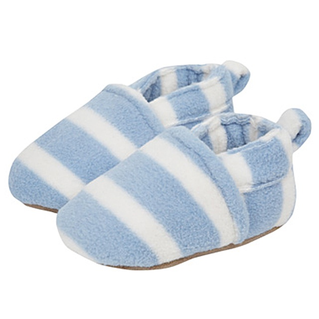 PLANET PYJAMA - Home of quality Kids pyjamas - Striped Fleece Slipper  JoJo Maman Bebe, $14.95 (http://www.planetpyjama.com.au/striped-fleece-slipper-jojo-maman-bebe/)