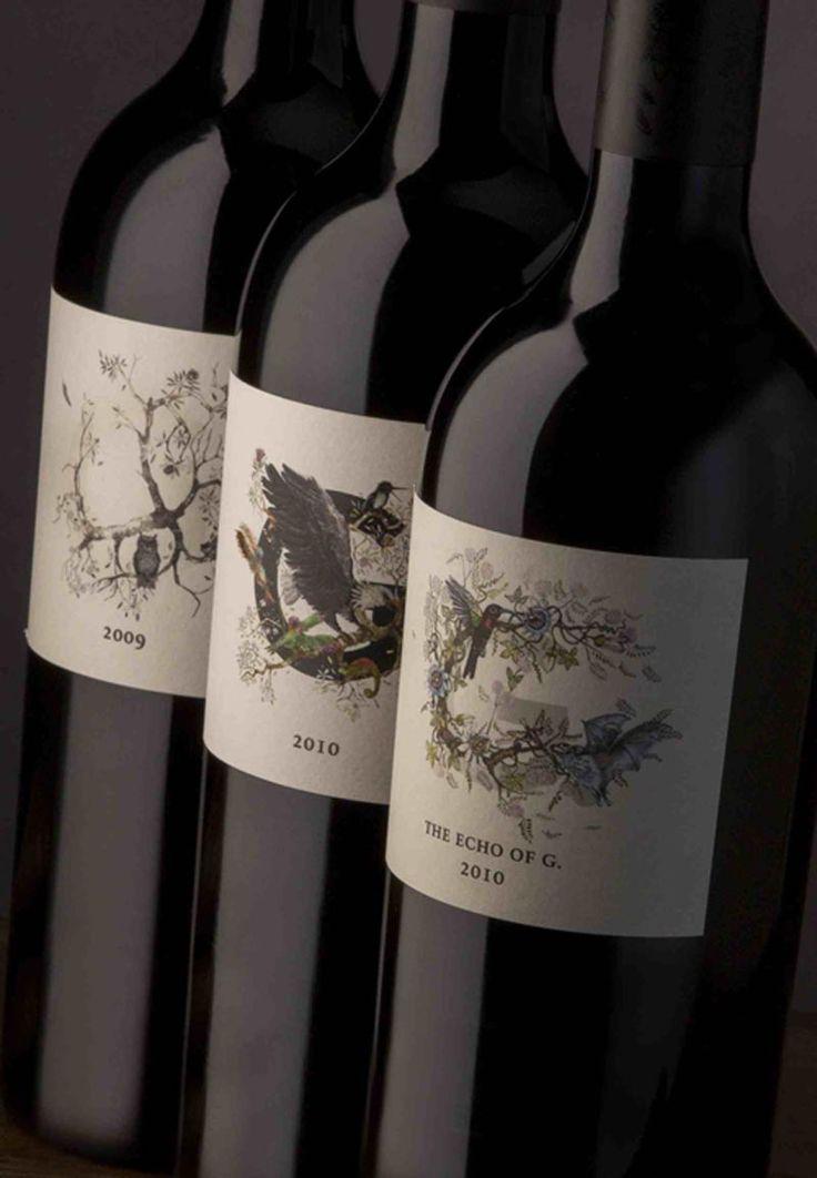 4G Wine label designs