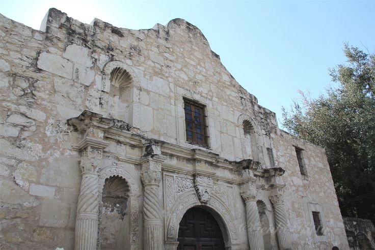 The Alamo Mission in San Antonio, Texas 2015