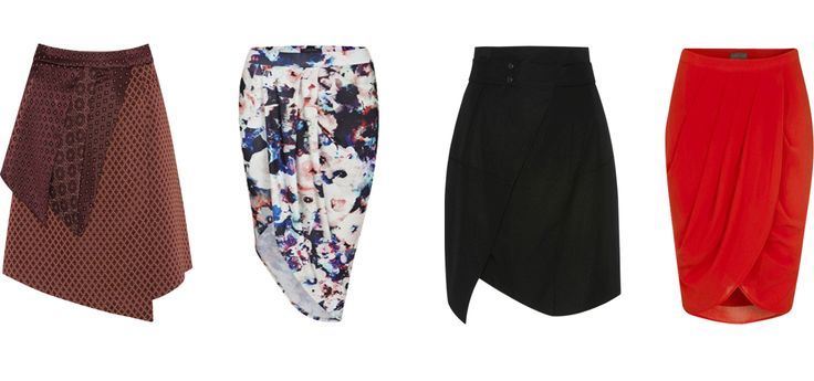 skirts for an inverted triangle body shape