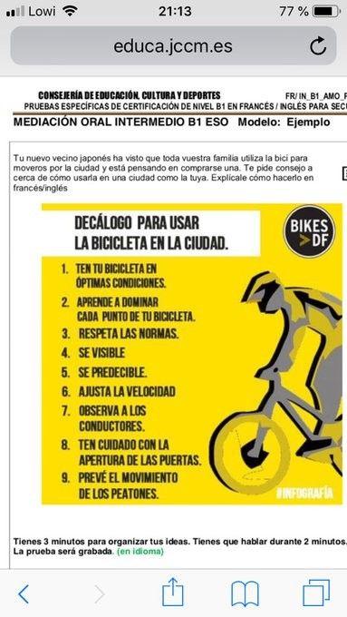 Mediaci 243 N Oral B1 Castilla La Mancha Ejemplo De Tarea