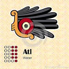 Aztec Water pictogram