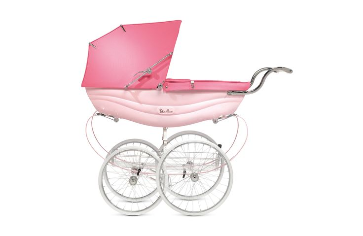 BALMORAL Pink, all inclusive Luxus Set zzgl. exklusivem Zubehör | KLASSISCHE LUXUSWAGEN | KINDERWAGEN | Silver Cross - THE BEST START IN LIFE