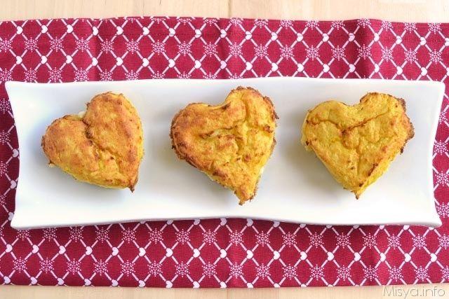 Timballini di patate con spinaci e speck, scopri la ricetta: http://www.misya.info/2014/02/11/timballini-di-patate-con-spinaci-e-speck.htm