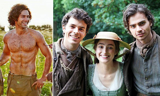 Two new male hunks are set to steal the show in Poldark