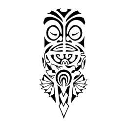 best 20 tiki tattoo ideas on pinterest tiki mask tiki totem and tiki book. Black Bedroom Furniture Sets. Home Design Ideas