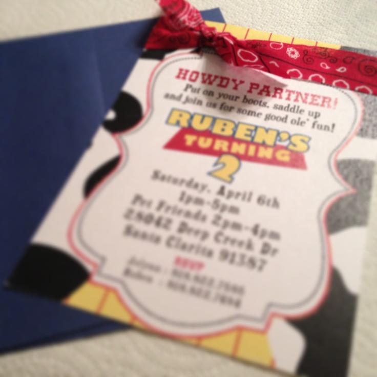 wording0th birthday party invitation%0A Toy Story invitation