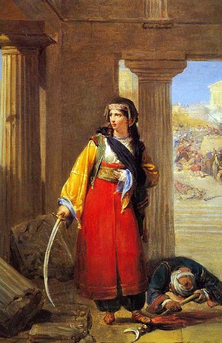 Νικολά Γκος, Η μάχη της Ακρόπολης (1827) - Nicolas Louis Francois Gosse