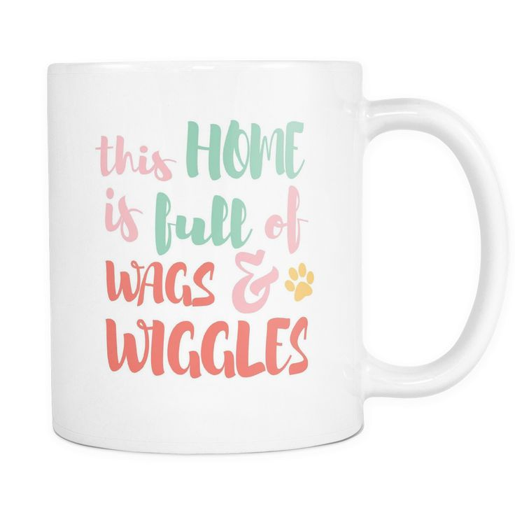 This home is full of wags and wiggles mug