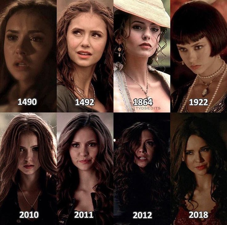 The Vampire Diaries: Katherine Pierce throughout the years