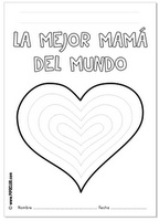 1000 images about mother 39 s day spanish on pinterest for Mother s day spanish coloring pages
