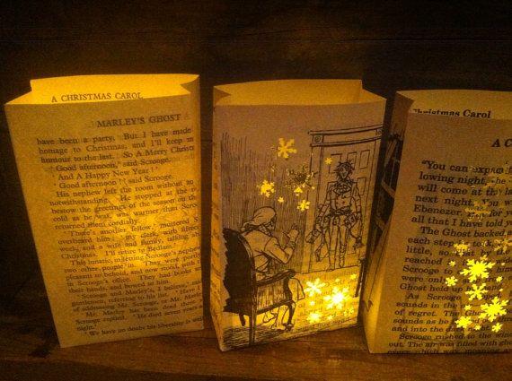 A Christmas Carol Christmas Luminaries Christmas Decor