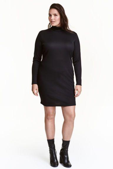 H&M+ Polo-neck dress | H&M