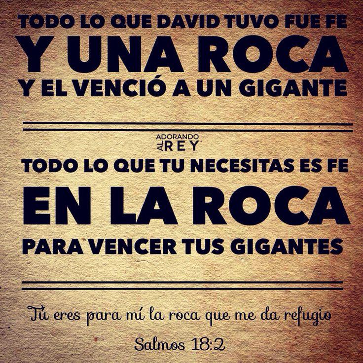 Tú eres para mí la roca que me da refugio; ¡tú me cuidas y me libras! Me proteges como un escudo, y me salvas con tu poder. ¡Tú eres mi más alto escondite! (Salmos 18:2)  #Dios #Fe #Jesus #Jesucristo #Cristo #Biblia #Cristianismo #Reflexion #Esperanza #EspirituSanto #Salmo #Versiculo #RocaInconmovible #Avivamiento #Prueba #PruebaDeFe #FrasesDeFe #FrasesCristianas #FrasesDeDios #AdorandoalRey