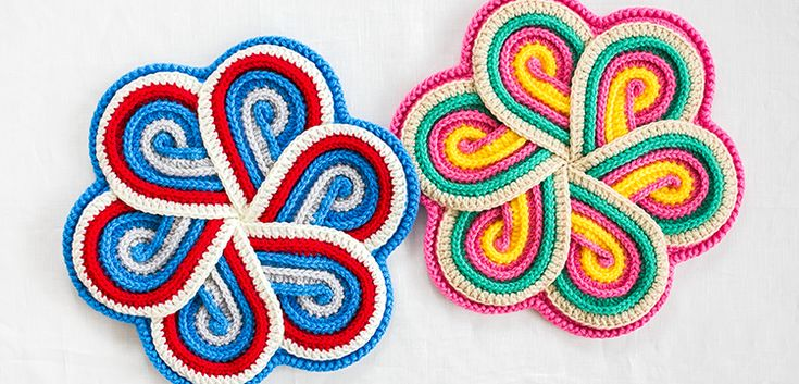 アマリリスの円座 | 編み物キット販売・編み方ワークショップ|イトコバコ