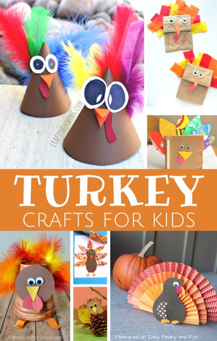 143 best thanksgiving crafts images on pinterest crafts for Thanksgiving turkey arts and crafts