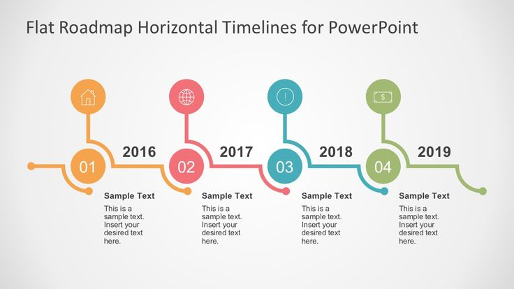 Flat Timelines Powerpoint Templates  Business Presentation And