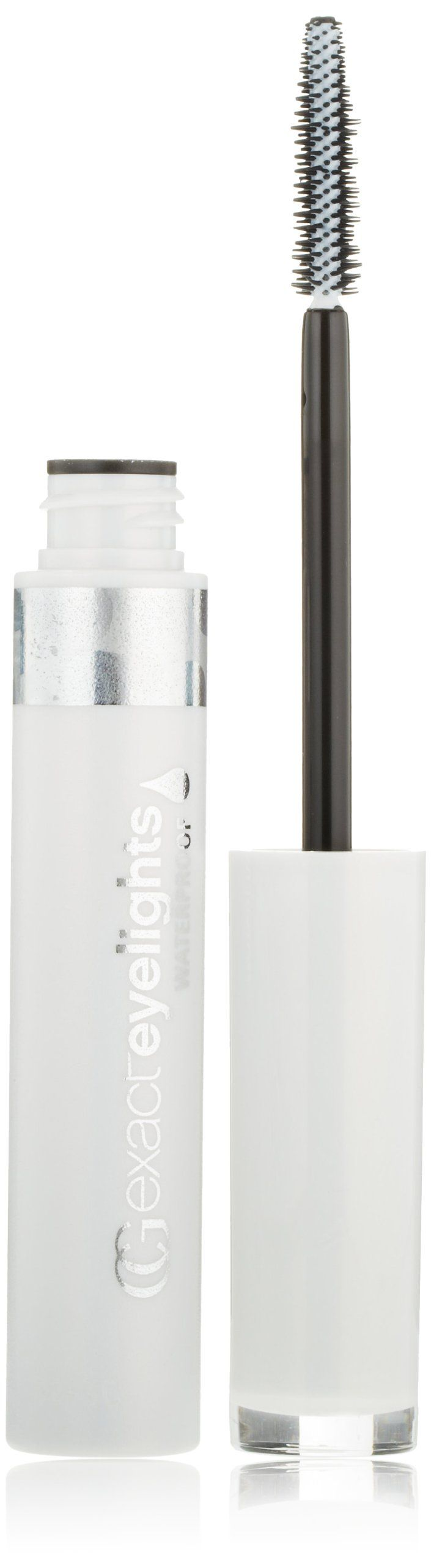 CoverGirl Exact EyeLights Waterproof Mascara, Black Sapphire 735 (for Blue Eyes), 0.24-Ounce Packages (Pack of 3). Get 4X Brighter Eyes vs. bare lashes. Unique mascara formula with micro-color spheres & metallics specially designed to reflect your eye color. No-clump exact brush. Waterproof. Four eyelighting shades - for blues, browns, hazels and greens.