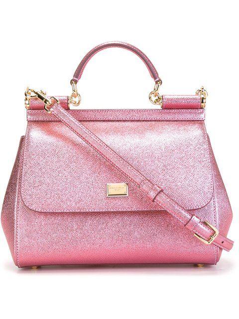 Dolce   Gabbana Medium Sicily Shoulder Bag - Farfetch  6091db223ce51