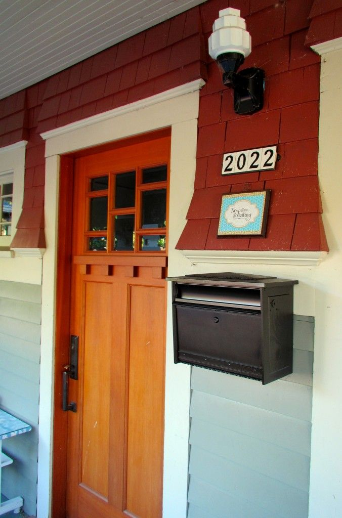 Beau Small Details Like A Cute Mailbox And Petite House Numbers Turn This Front  Door From Ordinary