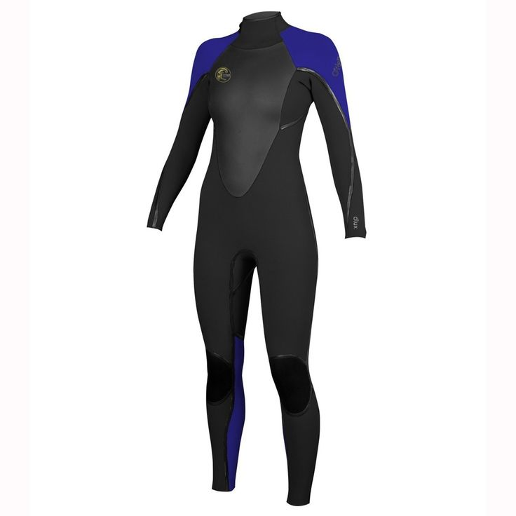 O'Neill Women's D-LUX 3Q-Zip 4/3 FSW Full Wetsuit $290 divers direct