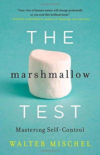 Marshmallow test : understanding self-control and how to master it by Walter Mischel. Classmark: 22.6.MIS.1a-c