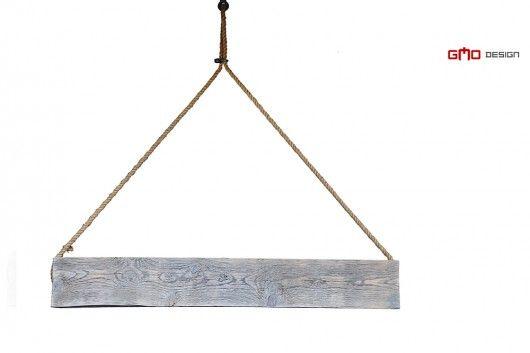 Lampa na linie, Loft Vintage Stare Drewno 100 cm