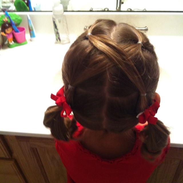 Toddler hair do idea.
