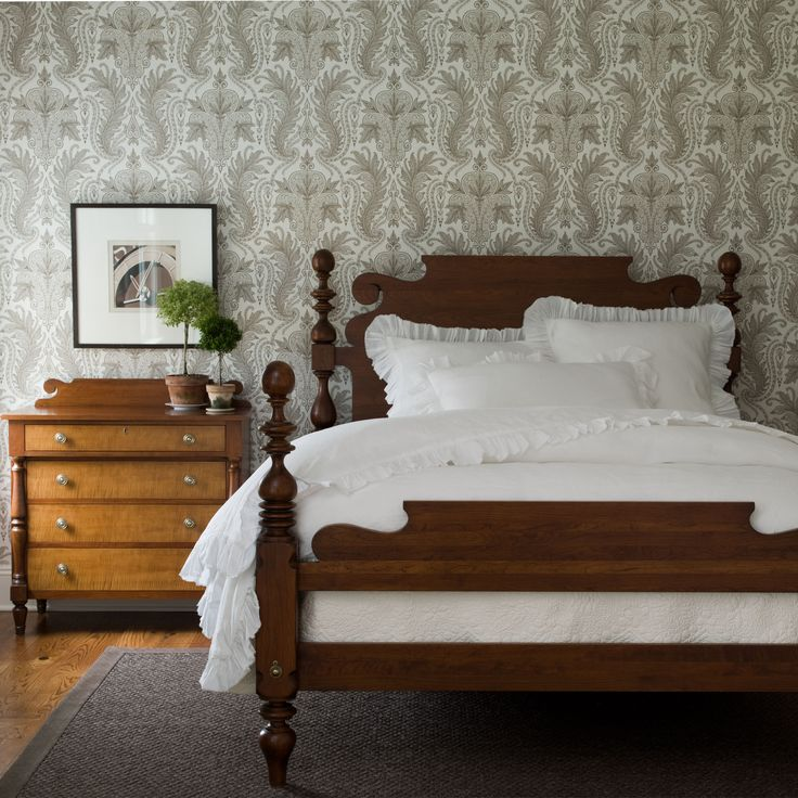 Quincy Bed Ethan Allen Us Guest Room Bed In 2019
