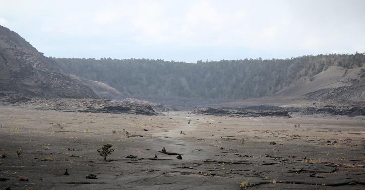 Kīlauea Iki Crater, Big Island, Hawaii: Places Ives, Big Islands Hawaii, Kīlauea Iki, Big Island Hawaii, Iki Crater, K 299 Lauea Iki