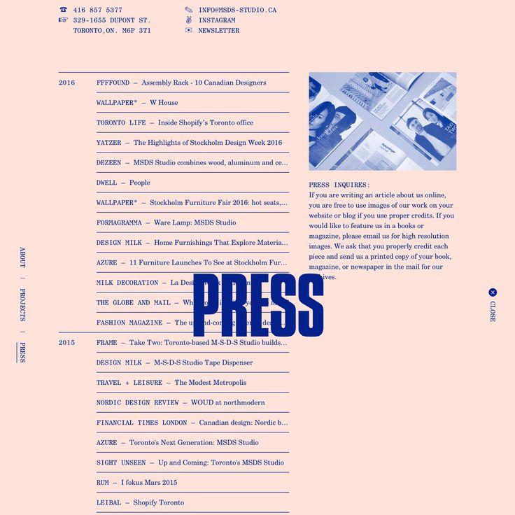 Fonts Used: Century Schoolbook, Century Schoolbook Mono, and Compacta • Typewolf Typography Inspiration