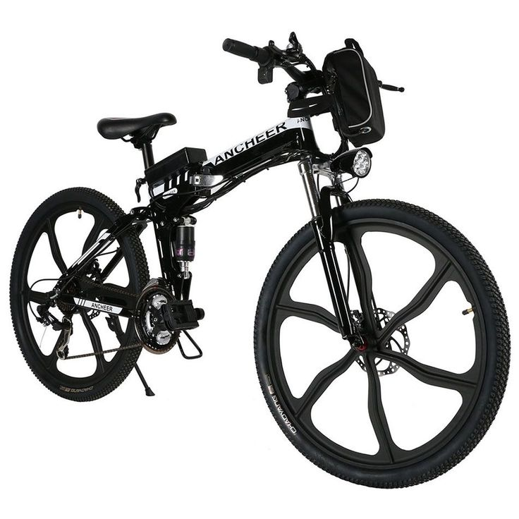 """ANCHEER 26"""" Foldable Mountain Bicycle 27 Speed Electric Power Mountain Bicycle #Ancheer"""