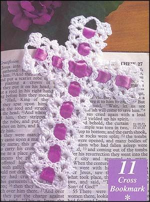 Free Crochet Cross Bookmark | Tejidos | Pinterest | Bookmarks, Crosses and Crochet Cross