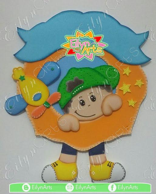 Placa decorativa Nene