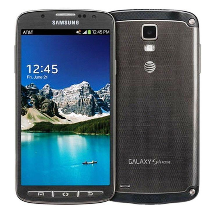 Samsung Galaxy S4 SGH-I537 Active UNLOCKED 16GB Gray Smartphone FAIR CONDITION #Samsung #TouchScreen