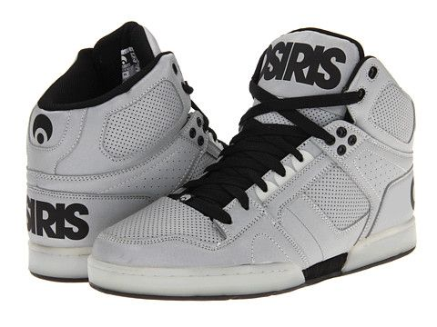 Gray Osiris Shoes On Lace Up Sneakers Style Sporty Osiris Shoes For Boys