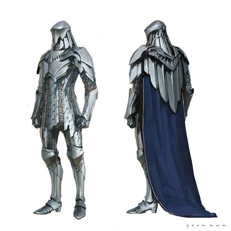 ArtStation - Demacian Knight, Joon Ahn
