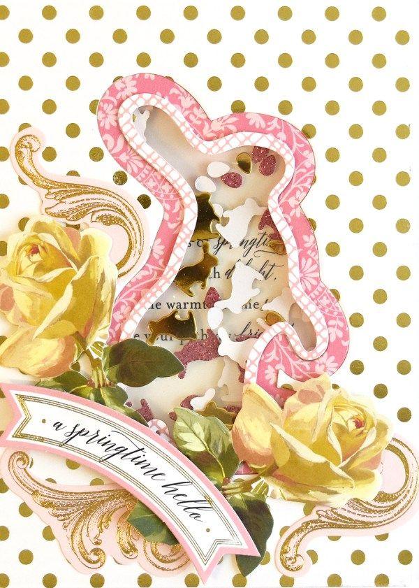 1241 Best Anna Griffin Elegant Paper Crafts Images On